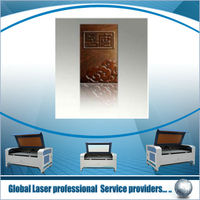 Laser cutting and engraving for leather, cloth, wood,double heads laser cutter,Stent Laser Cutting