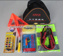 Multifunctional outdoor maintenance roadside Car emergency kit