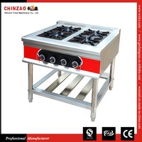 CHINZAO Buy China Products Commercial Table Top Gas 4 Burner Cooker
