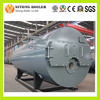 Low Power Consumption 10000 kg/h WNS 10 ton Steam Gas / Waste Oil Boiler