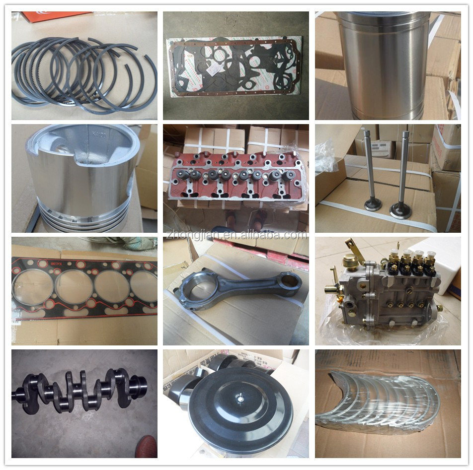Yuqilin Diesel engine spare parts Jiangdong JD330 Crankshaft