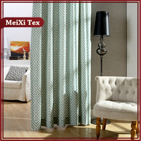 simple design printing canvas security curtains for round windows