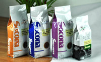 Hot selling coffee packaging pouches fast delivery time