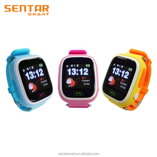 "1.22"" Color Touch GPS+AGPS+LBS+WiFi Smart Kids GPS Tracker Watch with SIM Card Slot"