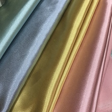 supply new arrival shiny thick stretch satin fabric sparkling crepe satin fabric