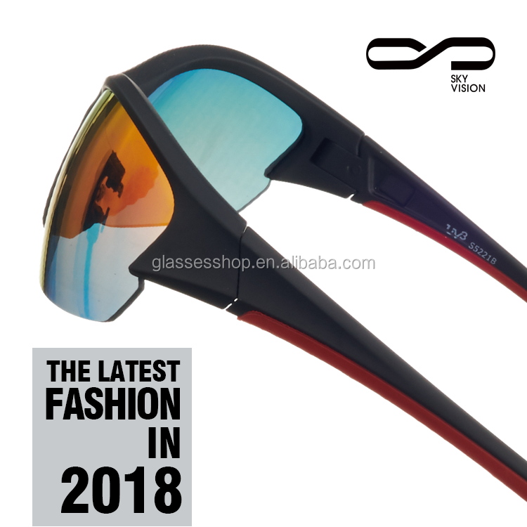 2017 new product glof sunglass made in china wholesale outdoor sports sunglasses