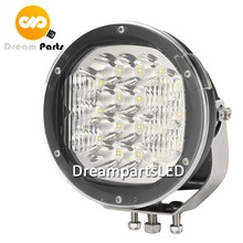 90w led round work lights 7inch auto lamp for truck tractors jeep offroad suv atv 12v 24v 48v 60v spot or combo beam