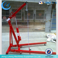 2 ton portable mobile shop crane sale