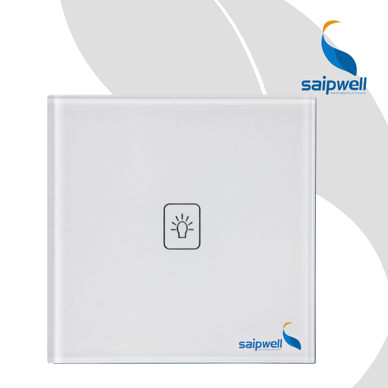 SAIPWELL Intelligent Touch Screen Light Remote Control Wall Switch