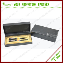 High Quality Advertising Business Gift Pen Set 0210014 MOQ 100PCS One Year Quality Warranty