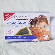 whitening skin solid bath soap with anti-acne ingredients