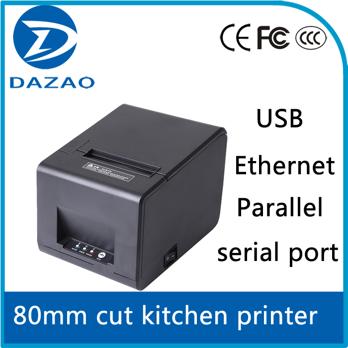 usb kitchen POS 80mm thermal receipt printer,pos printer for restaurant,retail,supermarket
