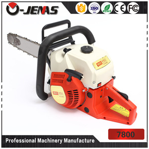 ojenas new design 7800 78cc gasonline 2 stroke chain saw