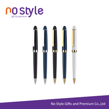 Top Quality Custom Logoed Promotional Anodized aluminium pen with logo