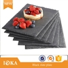 Professional LFGB and BSCI natural slate &ampwooden slate plate for tableware with individual generators