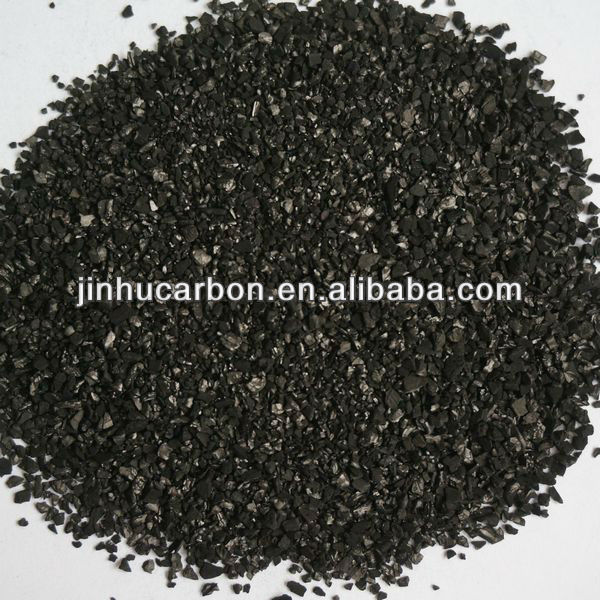 Granulated coconut shell carbon