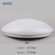 12inch 18w led ceiling light pc cover and iron plate, cheap price for purchase it