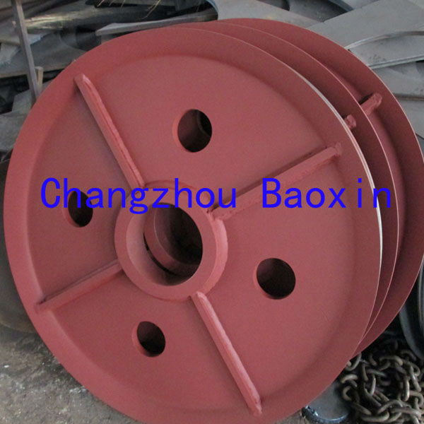 boat pulley block for cargo crane