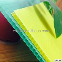 coroplast plastic polypropylene transparent hard sheet