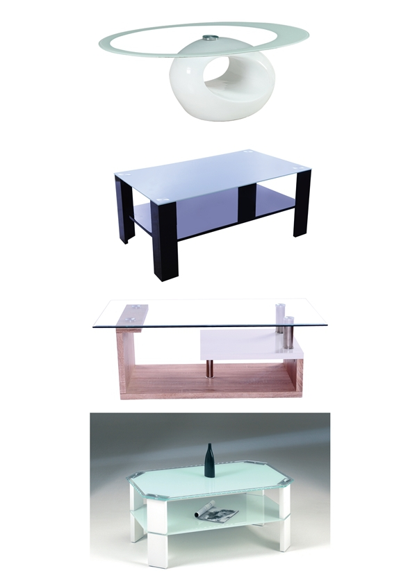 cheap living room furniture fancy multifunction glass coffee table