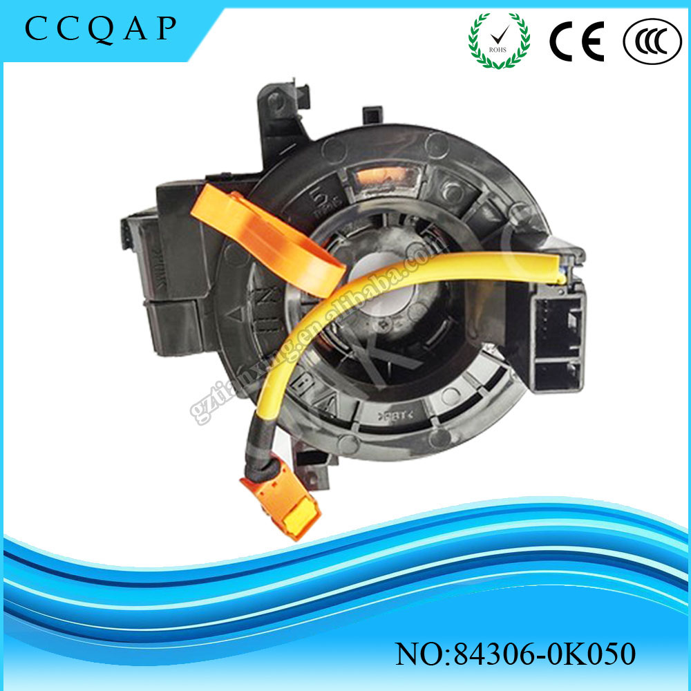 2016 Hot sale brand new auto clock spring airbag spiral cable sub-assy 84306-0K050 for Toyota Hilux Vigo
