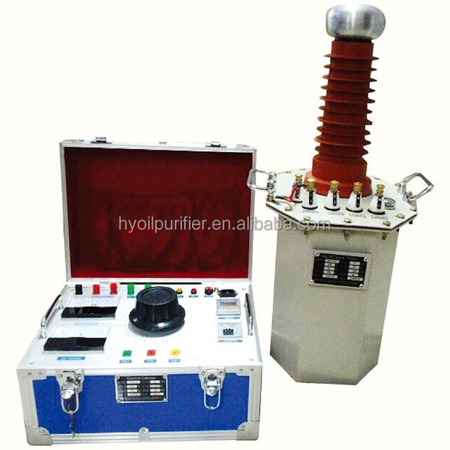 High Voltage Testing : Ac high voltage testing transformer test