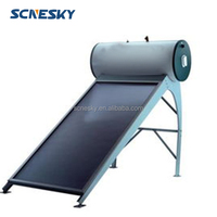 2015 New Fashionable style pressurized flat plate solar water heater export,solar water heater panels collector