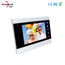 Bcomtech Color Video Door Phone with 7 Inch LCD Screen Intercom System for Villa