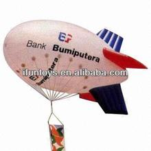 Advertising inflatable airplane/Inflatable helium blimp