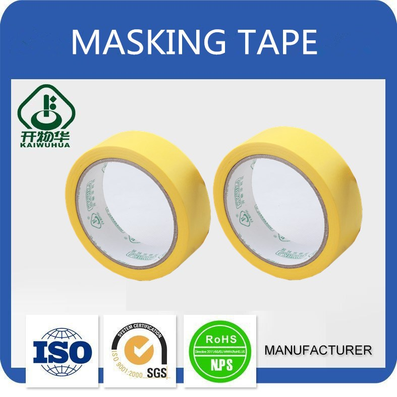 Factory Supply export cheap adhesive masking tape with wholesale price