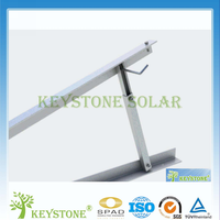 Adjustable triangle solar panel mounting for PV Project