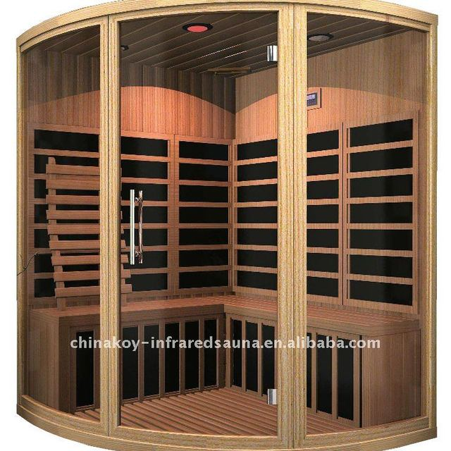 CE standard 4 persons carbon fiber sauna room new design OEM sauna room H03-B8