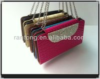 New arrival hot selling diamond handbag case for Samsung galaxy note 3 leather case