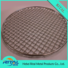 Outdoor Crimped Barbeque Mesh/BBQ Grill Net