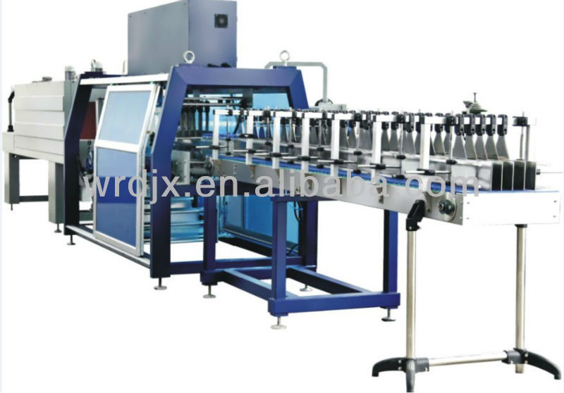 best selling fully-auto sleeve sealer shrink tunnel machinefully-auto wrapper with high quality