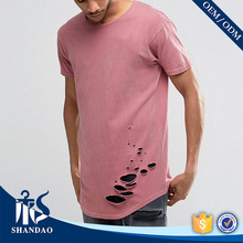 Guangzhou shandao factory o-neck short sleeve180g 100%cotton mens fashionable direct from manufacturer clothing
