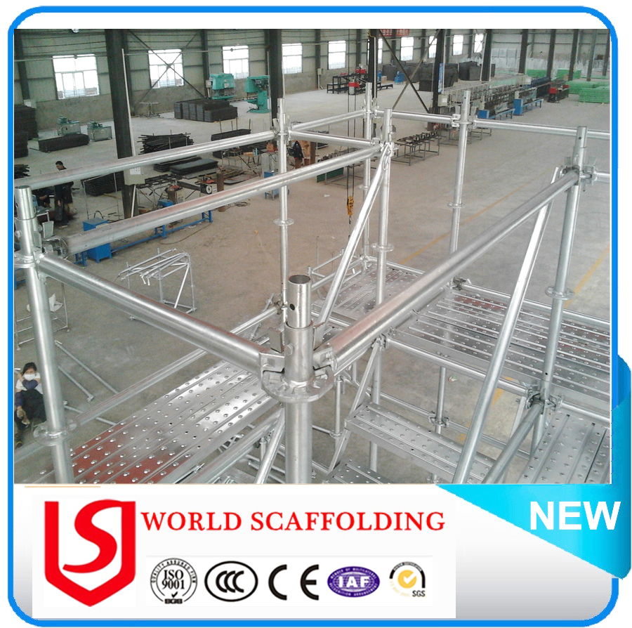 New Brand Ringlock System Scaffolding For Sale With CE Certificate