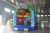 Commercial QIQI Toys inflatable bouncer with slide castillo hinchable for kids