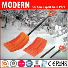 plastic snow shovel