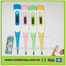 Small Smart sensor digital recording electrical thermometer with pen-type(DT614)