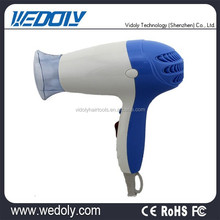 Low price small portable travel hair dryer with diffuser