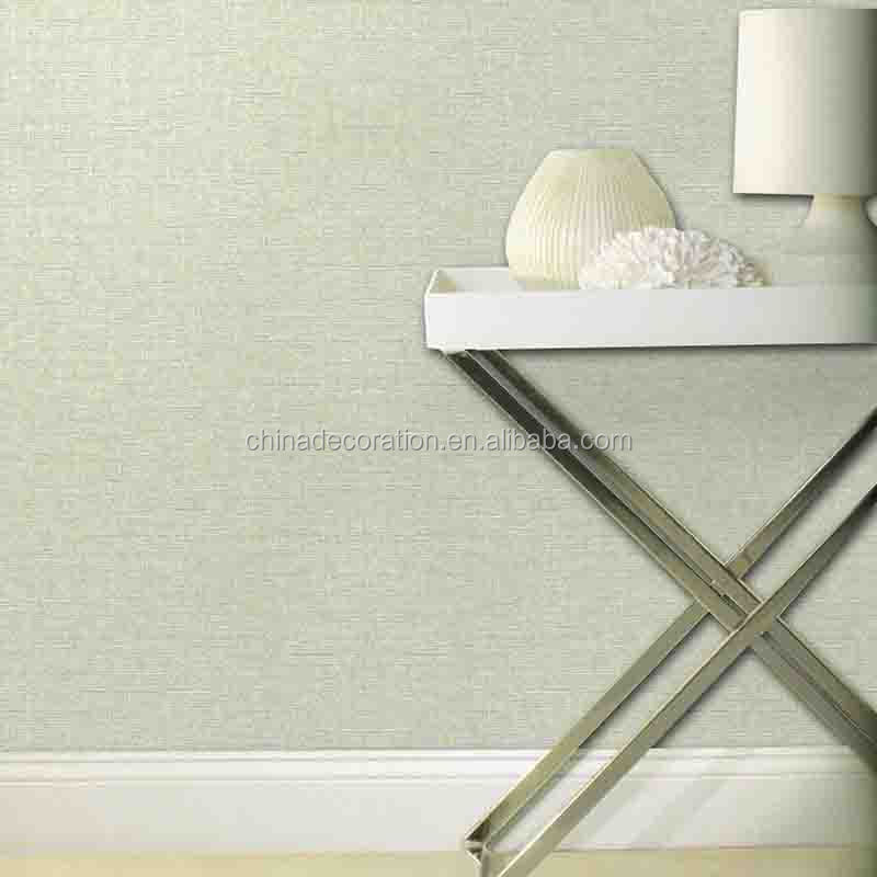 Fabric backed wall papers home decoration wallpaper