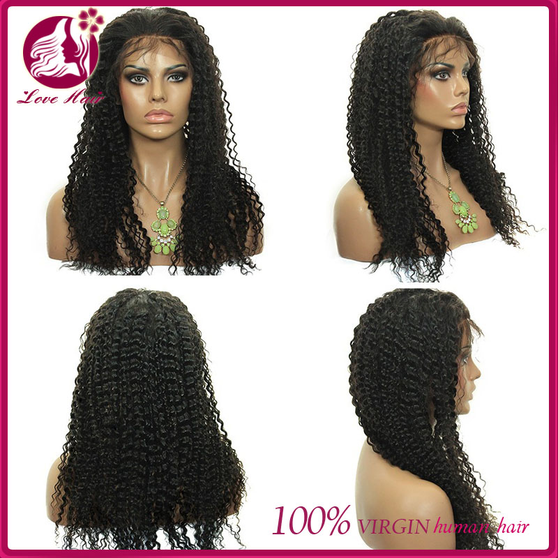 No Tangle Free Human Hair Wig Crochet Braids With Human Hair Mongolian ...