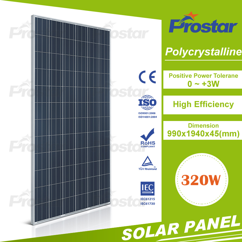 2017 Newest Photovoltaic Panels 310w 320w 300w Wholesale Price For Home Mono Silicon Solar Panel