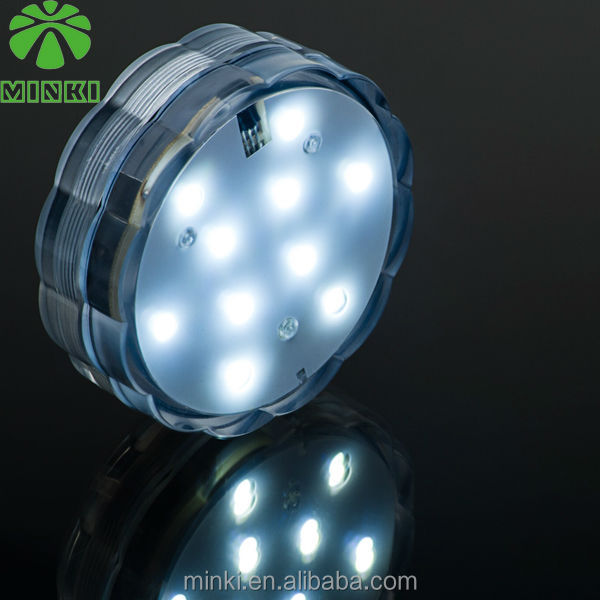 Remote Control Battery Operated Submersible Led Lights