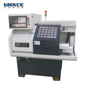 High Accuracy CK0620 Micro cnc metal lathe With bar feeder