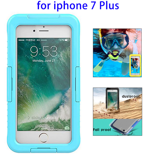 Waterproof Diving Underwater Phone Dry Cover Case for iPhone 7 Plus