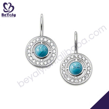 wholesale latest design fashion silver jewelry indian jhumka earring jewellery