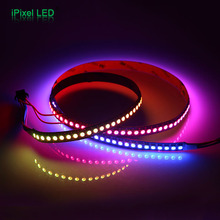 Super bright multicolor programmable rgb 144 led rope strip light apa102