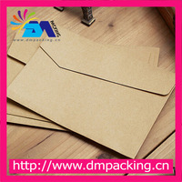 Recycled Brown Kraft Paper Invitation Envelopes